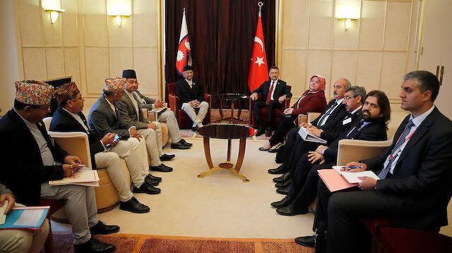 نائب أردوغان يجري عدة لقاءات في جنيف