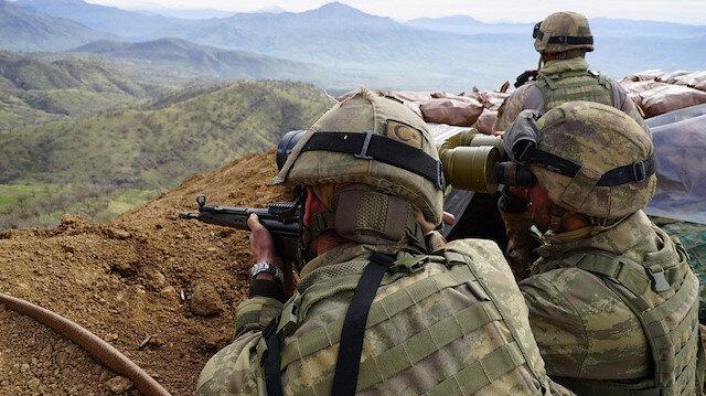 Afrin'de PKK/YPG'li 10 terörist etkisiz hale getirildi