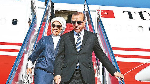 Emine Erdoğan ve Recep Tayyip Erdoğan