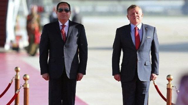 Ürdün Kralı Abdullah - Mısır'ın darbeci lideri Sisi