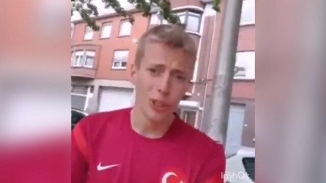 Emre Belözoğluna fırça uzatan Belçikalı özür diledi