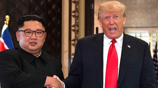 Trump: Kim Jong'dan güzel bir mektup aldım