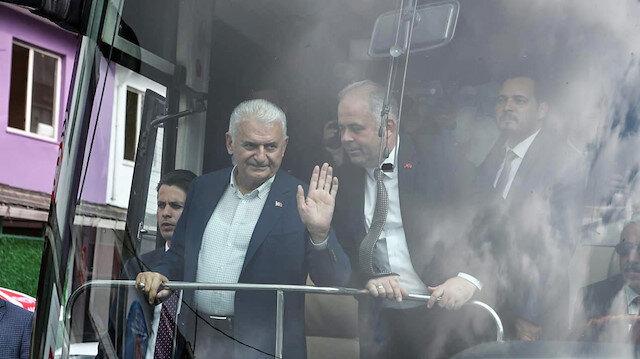 """يلدريم: سأناقش مستقبل إسطنبول مع """"إمام أوغلو"""""""