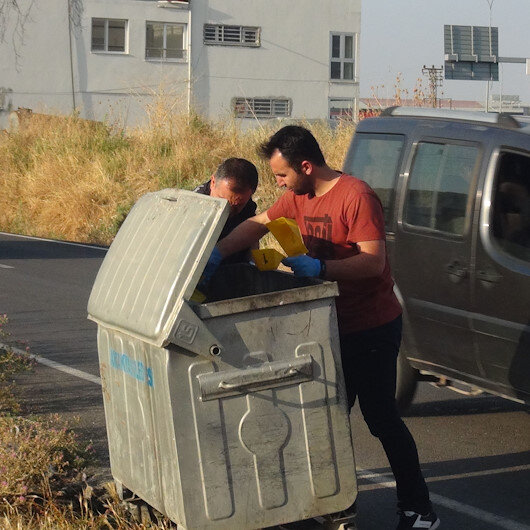 Hatay'da çöp konteynerinde bebek cesedi bulundu