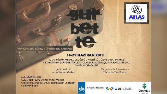 Ankara'da sanat severlerle buluşacak sergi, Atlas Kültür Merkezi ve Zülfü Livaneli Kültür Merkezi'nce düzenlenecek.