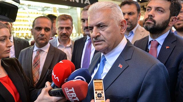 AK Parti'nin İstanbul adayı Binali Yıldırım