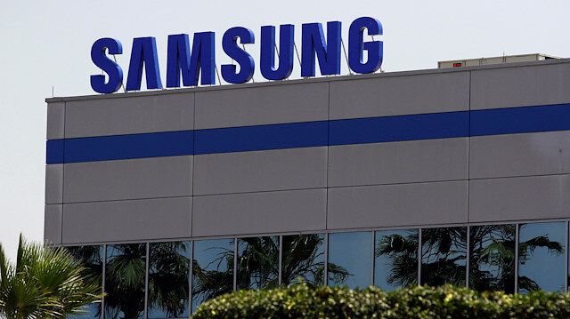 Meksika'daki Samsung fabrikasının dışındaki tabela.