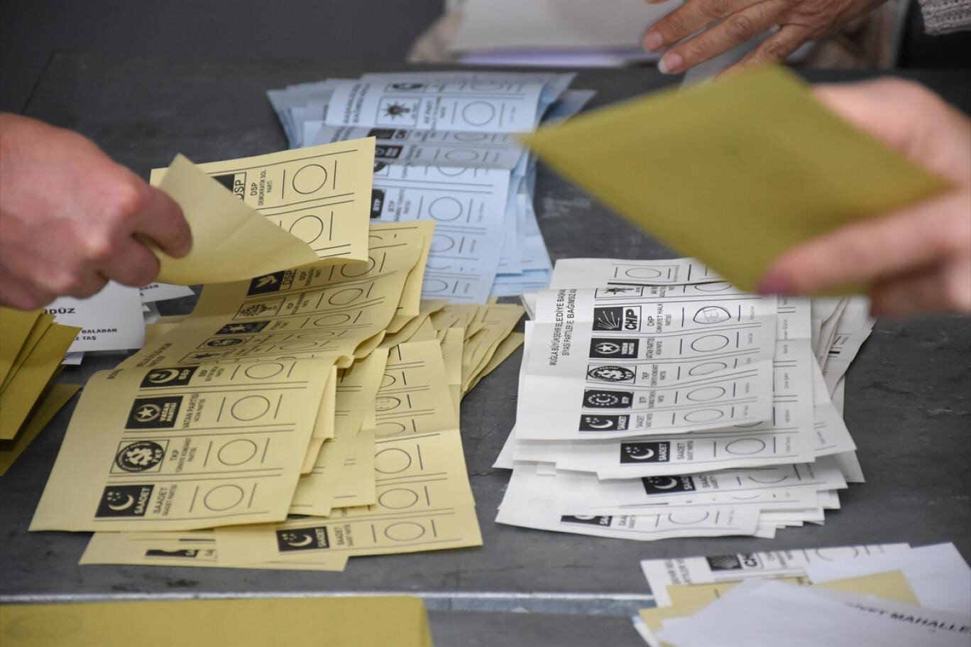Oy sayımı