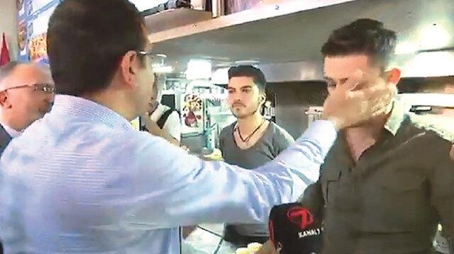 CHP adayı İmamoğlu, kendisine soru soran esnaf Eyüp Keskin'e tokat atmıştı.
