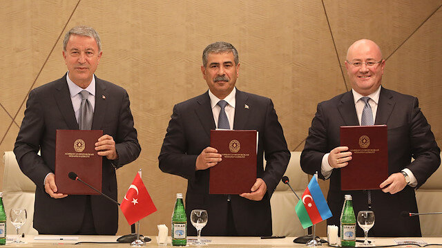 7th Azerbaijan-Georgia-Turkey Trilateral Defence Ministers' Meeting