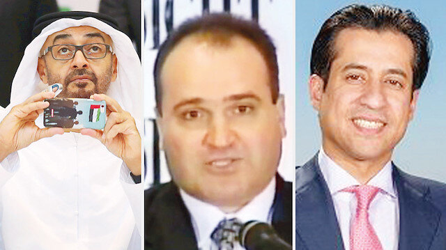 Muhammed bin Zayed - George Nader - Raşid Malik