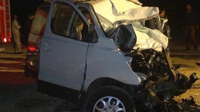 مصرع 12 شخصا في حادث سير جنوبي القاهرة