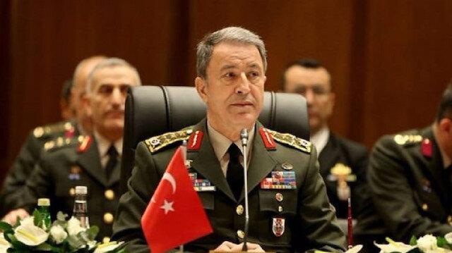 Turkey's National Defense Minister Hulusi Akar