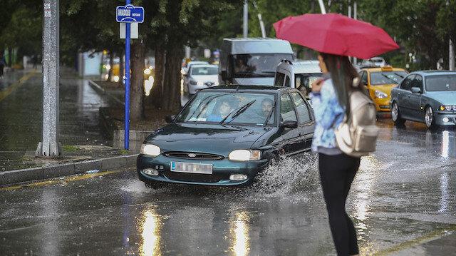 Meteorolojiden 59 ile yağış uyarısı