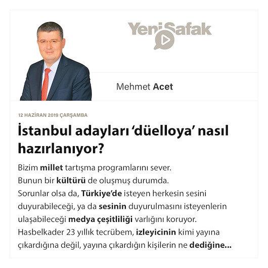 İstanbul adayları 'düelloya' nasıl hazırlanıyor?
