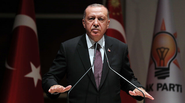 Cumhurbaşkanı Recep Tayyip Erdoğan, AK Parti grup toplantısında kritik mesajlar verdi.