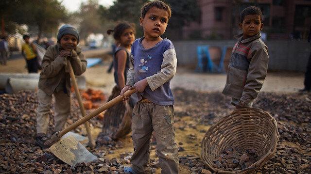 Her 10 çocuktan biri işçi