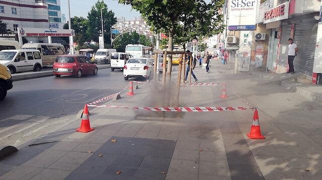 İstanbul'da yeraltından çıkan dumanlar korkuttu