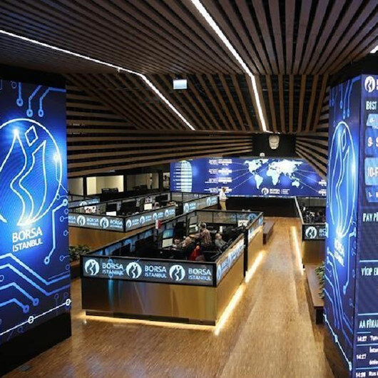 Turkey's benchmark stock index down at open