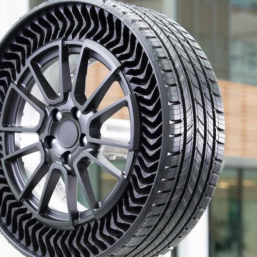 Michelin'den yeni havasız lastik teknolojisi