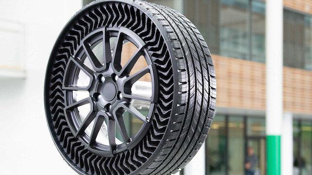 Michelin'in havasız lastik teknolojis Uptis