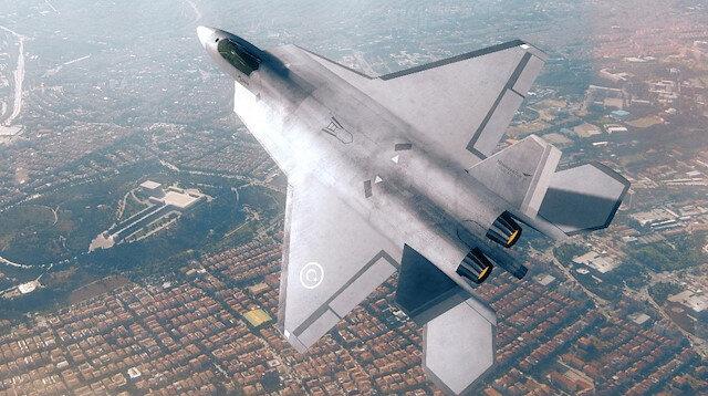 Milli Muharip Uçak (MMU) Projesi'nin birebir modeli ilk defa Paris'te görücüye çıkacak.