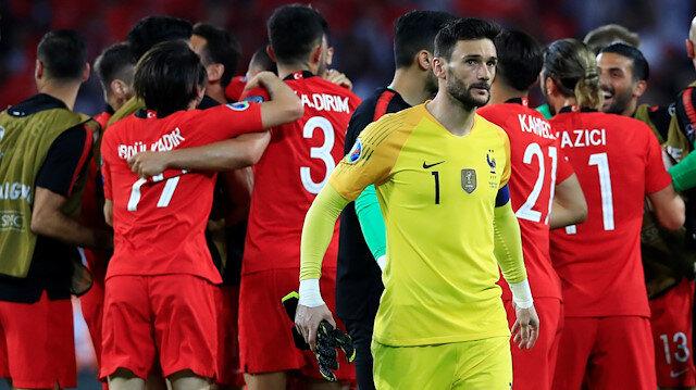 EURO 2020 Grup Elemeleri Fransa'yı 2-0 yenen milli takımımız İzlanda'ya 2-1 mağlup olmuştu.