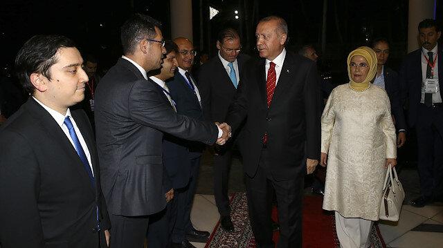 Cumhurbaşkanı Erdoğan Tacikistan'da