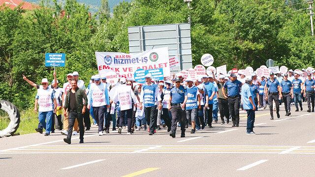CHP'li Bolu Belediye Başkanı Özcan, göreve gelir gelmez işçi kıyımına başladı.