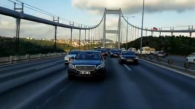 Devlet Bahçelinin İstanbul yolculuğu videosu sosyal medyayı salladı