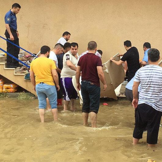 Kocaeli'de sel felaketi: 1 kişi öldü