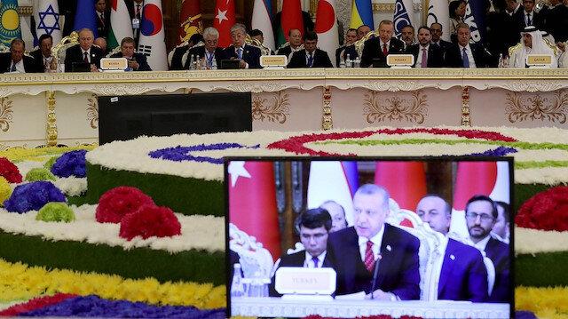 Cumhurbaşkanı Erdoğan'dan Duşanbe değerlendirmesi