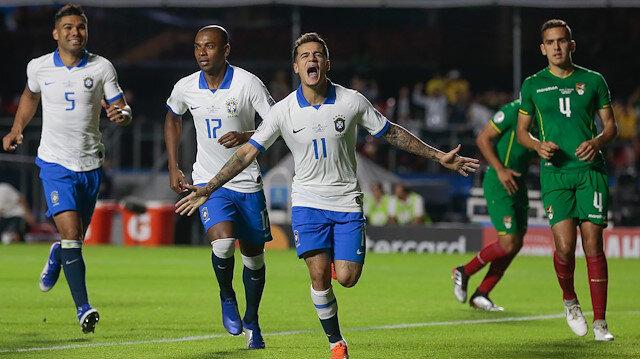 Brezilya Copa America'ya 'farklı' başladı