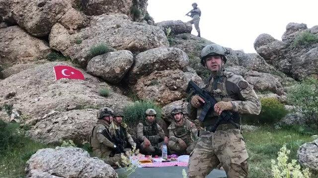 Şehit asker Gabar Dağı'ndan selam yollamış