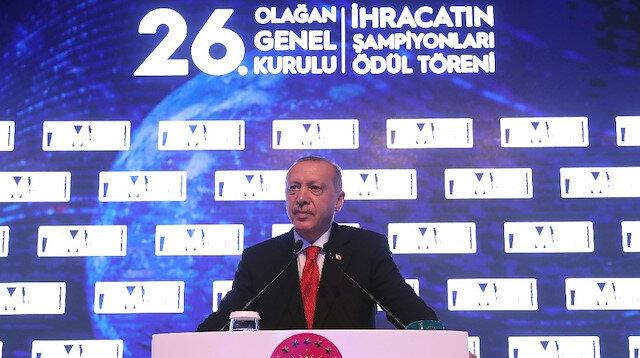 Erdoğan: İhracattaki yükseliş olumlu ancak yetersiz