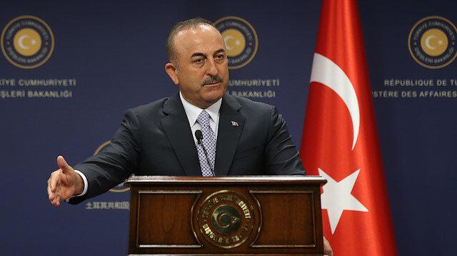 Dışişleri Bakanı Mevlüt Çavuşoğlu.