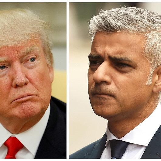 Trump assails London mayor as 'disaster'