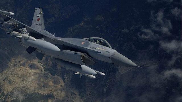 Terör örgütü PKK hedeflerine hava operasyonu düzenlendi.
