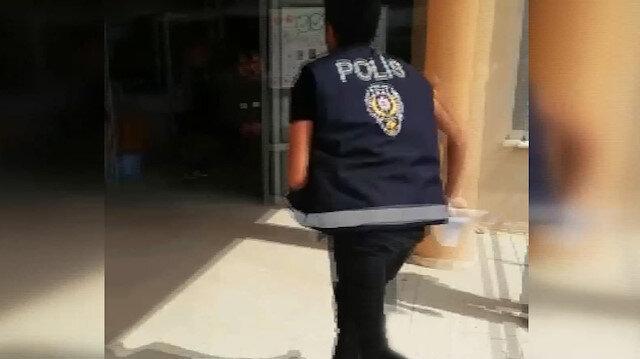 Öğrencinin unuttuğu evrağı son saniyede polis yetiştirdi