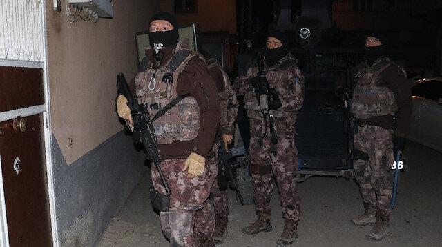 Bin polisle çekirge operasyonu