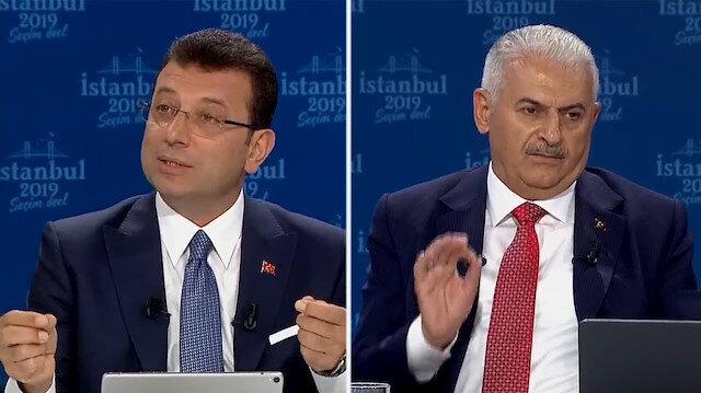 Binali Yıldırım, CHP adayının asılsız iddialarına yetişemedi