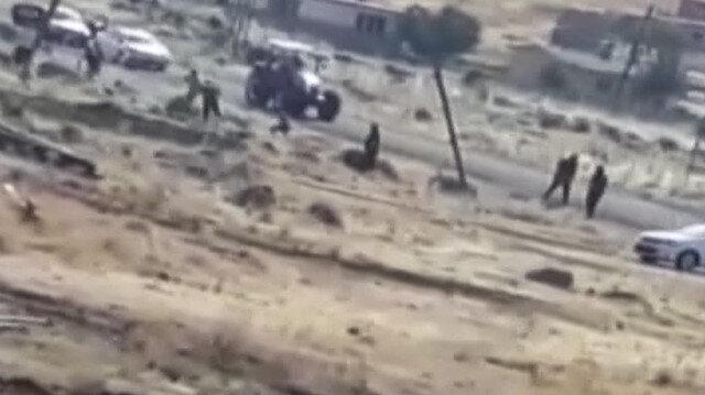 Şanlıurfa'da 4 kişinin öldüğü çatışma anı kamerada