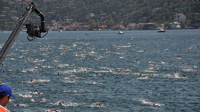 Istanbul to host cross-continental swim race in July