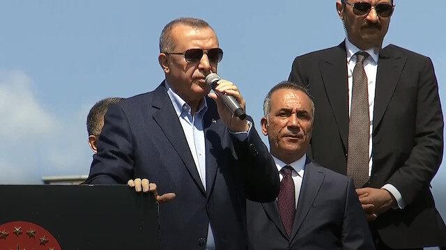 Erdoğan: Biz İstanbul'umuzu bu yalancılara teslim edemeyiz