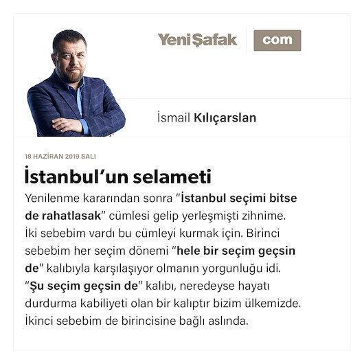 İstanbul'un selameti