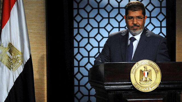 """Libya Başkanlık Konseyi Üyesi Muhammed Ammari, yayınladığı mesajında başsağlığı dileyerek, """"şehit Mursi'nin hayatının onu hapsedenlerden daha uzun olacağını"""" paylaştı."""