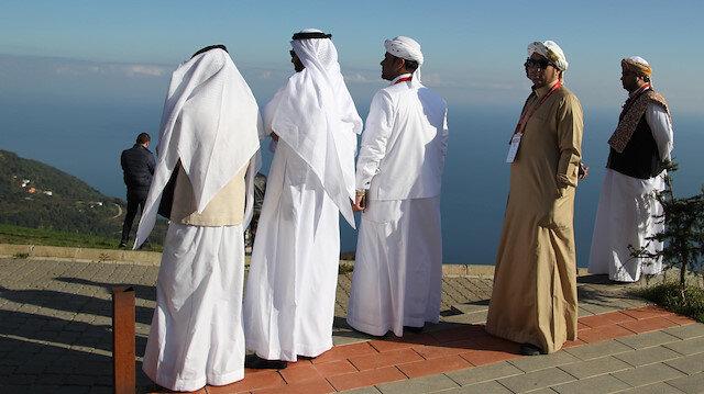 Arap yatırımcılar Karadeniz bölgesinde.