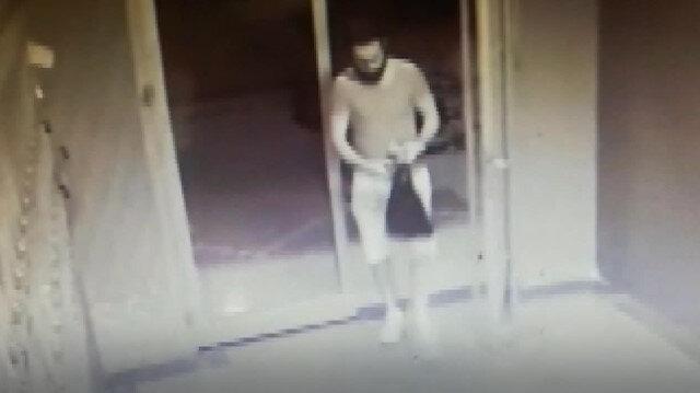 Pendikte kız arkadaşını öldürüp intihar eden adam kamerada