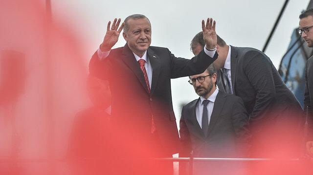 Cumhurbaşkanı Erdoğan: 1453'te zulüm değil gönüllerin fethi başladı