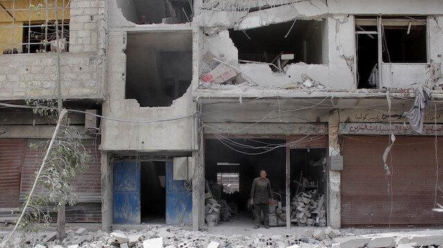Esed İdlib'e saldırmaya devam ediyor: 10 sivil hayatını kaybetti